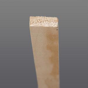 Grenen glaslat 13 x 28 mm