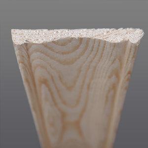 Grenen architraaf 8 x 69 mm