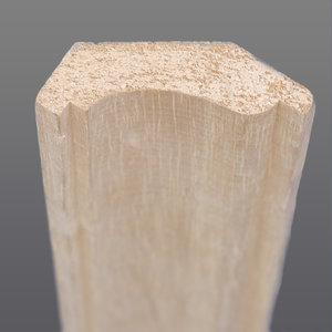Abachi hoeklijst 33 x 46 mm